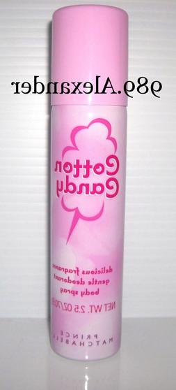 cotton candy fragrance deodorant body spray