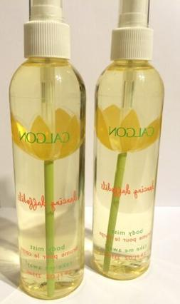 CALGON DANCING DAFFODILS FLOWERS BODY MIST SPLASH SPRAY SET