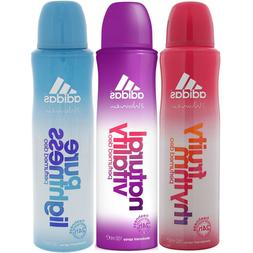 Adidas Deodorant 24H Freshness Women Body Spray 150 ML Selec