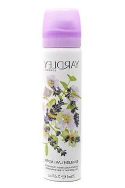 Yardley of London English Freesia 2.6 oz Deodorizing Body Fr