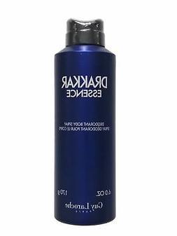 Drakkar Essence Deodorant Body Spray 6 oz - New In Box
