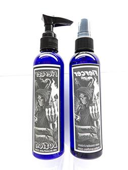 Fiercer Spray-lotion Combo 4oz Body Spray and 4oz Bottle of