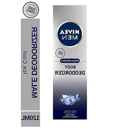 Nivea Men Fresh Protect Body Deodorizer Ice Cool Body Spray