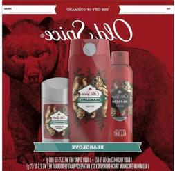 Old Spice 3 pcs Gift Set - Body Wash, Antiperspirant and Bod