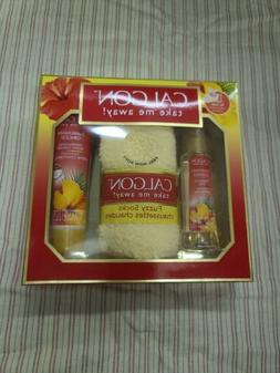 NEW Calgon Hawaiian Ginger Body Mist, Body Cream & Fuzzy Soc
