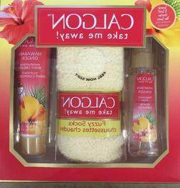 Calgon Hawaiian Ginger Gift Set Fragrance Mist 2 oz Body Cre