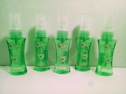 Hearts & Daisies Body Spray 1 oz Set of 5 Body Fantasies Fra
