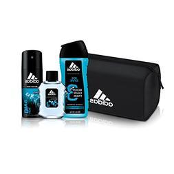 Adidas Fragrance Ice Dive 4 PC - 8.4 oz Body Wash, 1.7 oz Ea