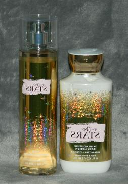 BATH & BODY WORKS IN THE STARS BODY LOTION FRAGRANCE MIST SP