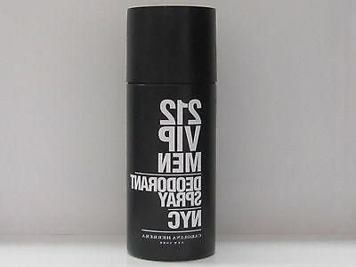 212 VIP by Carolina Herrera for Men - 5 oz Deodorant Spray
