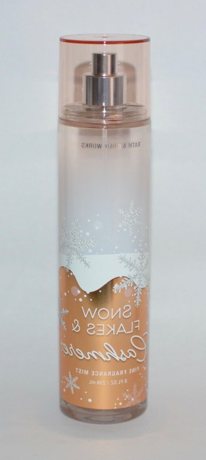 3 x bath and body works snowflakes