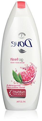 Dove Go Fresh Body Wash, Revive Pomegranate and Lemon Verben