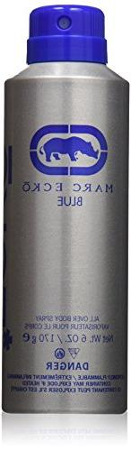 Marc Ecko Body Spray, Blue, 6 Ounce