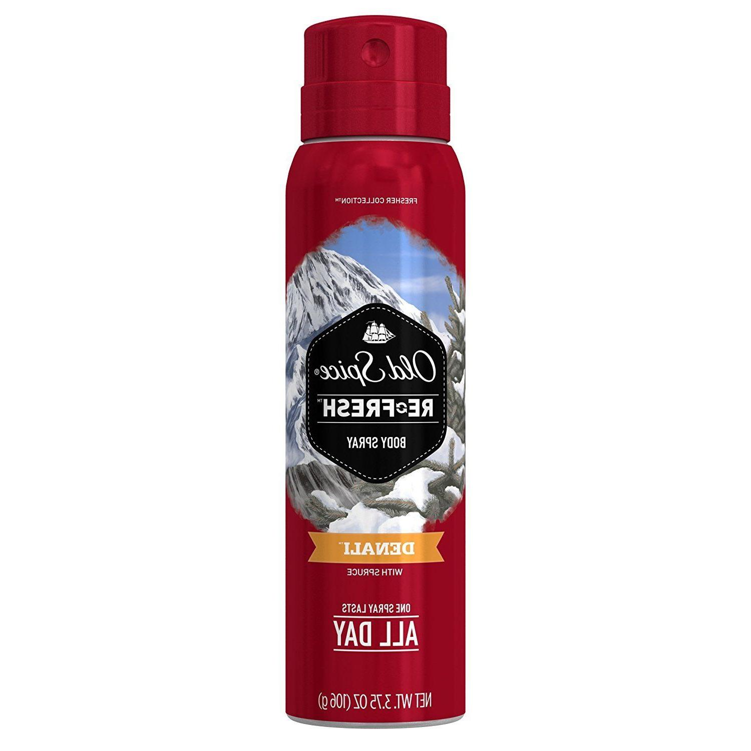 Old Spice Refresh Fresher Collection Body Spray 3.75 oz Dena