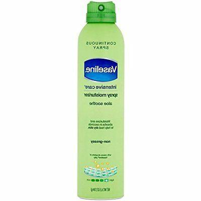 Vaseline Spray and Go Mositurizer Aloe Fresh, 6.5 FZ