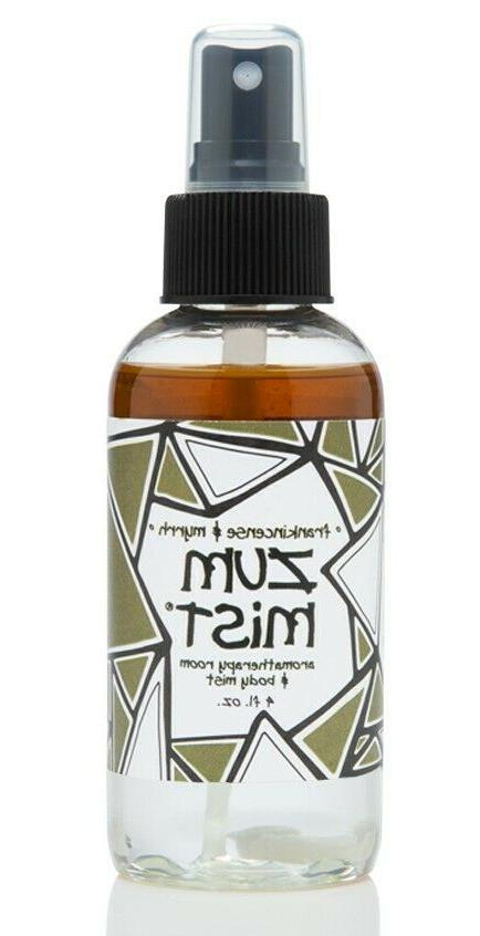 Zum Mist Aromatherapy Room & Body Spray Frankincense And Myr