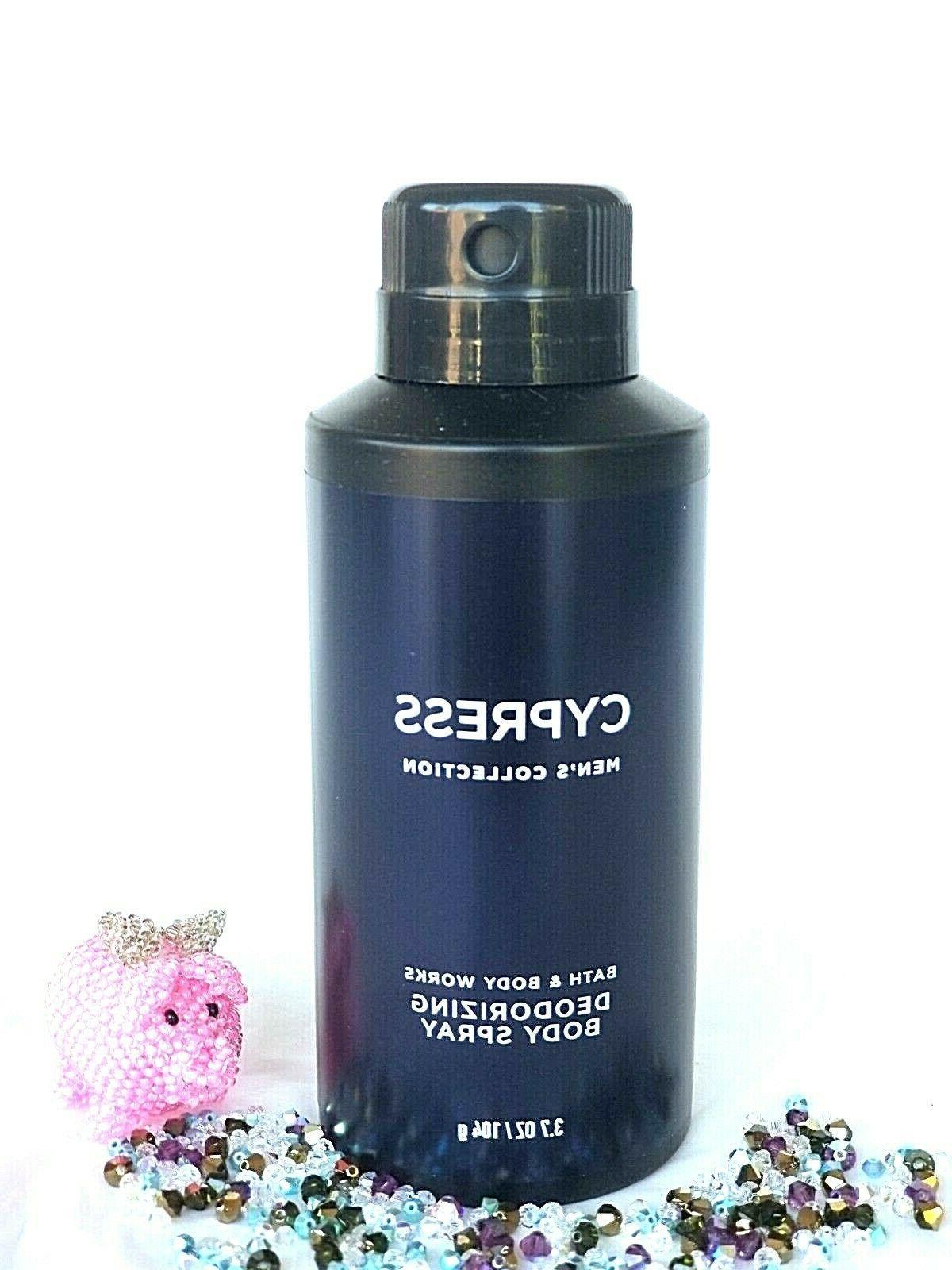 Bath And Body Works Cypress Deodorizing Body Spray 3.7oz Bra