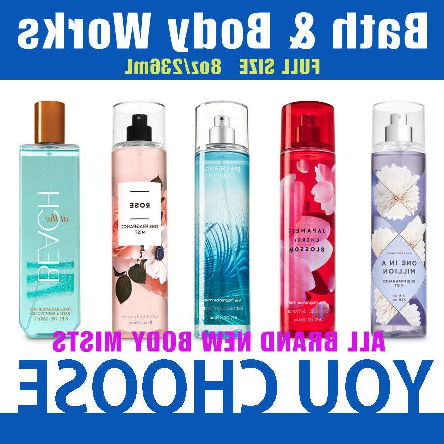bath and body works new fine fragrance