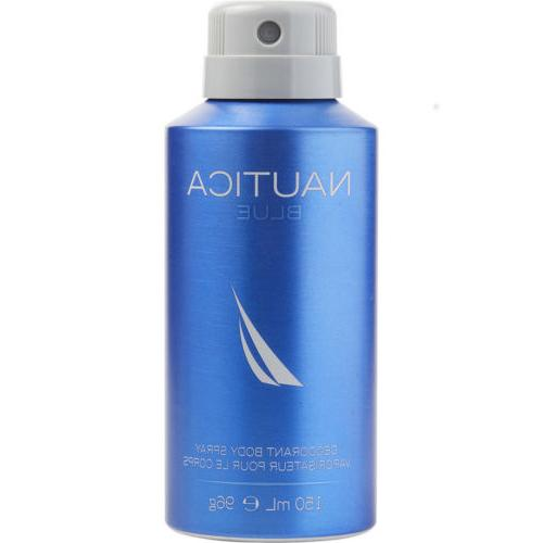 NAUTICA BLUE DEODORANT BODY SPRAY 5.0 oz