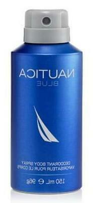 NAUTICA BLUE DEODORANT BODY SPRAY 5.0 oz - 5.0 oz / 148 ml