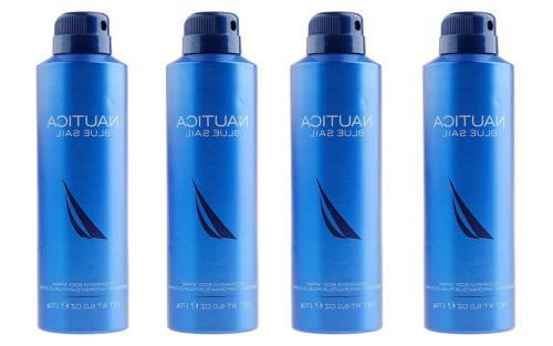 blue sail deodorizing body spray for men