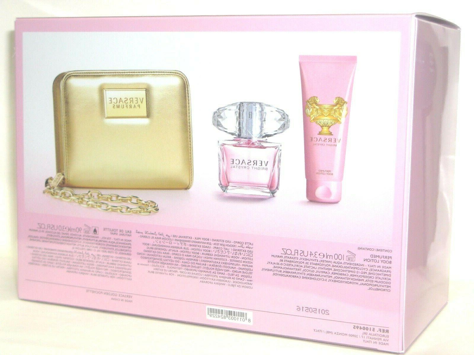 bright crystal 3 0 edt body lotion