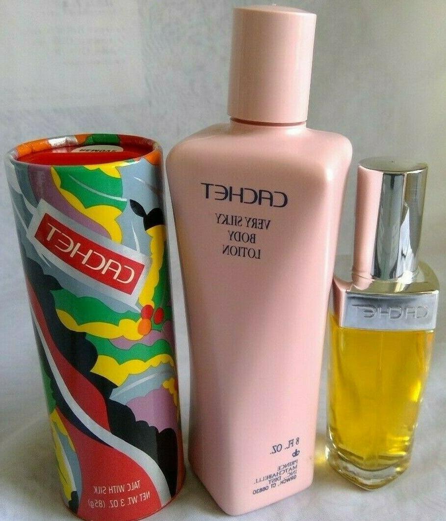 cachet spray cologne 1 5oz body lotion