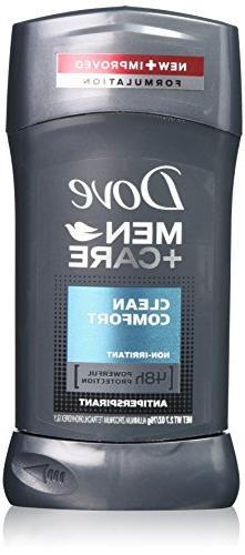 Dove Men+Care Antiperspirant & Deodorant, Clean Comfort 2.7