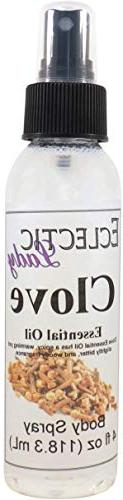 Clove Essential Oil Body Spray, 8 ounces