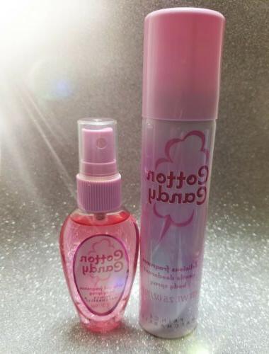 cotton candy deodorant body spray 2 5oz