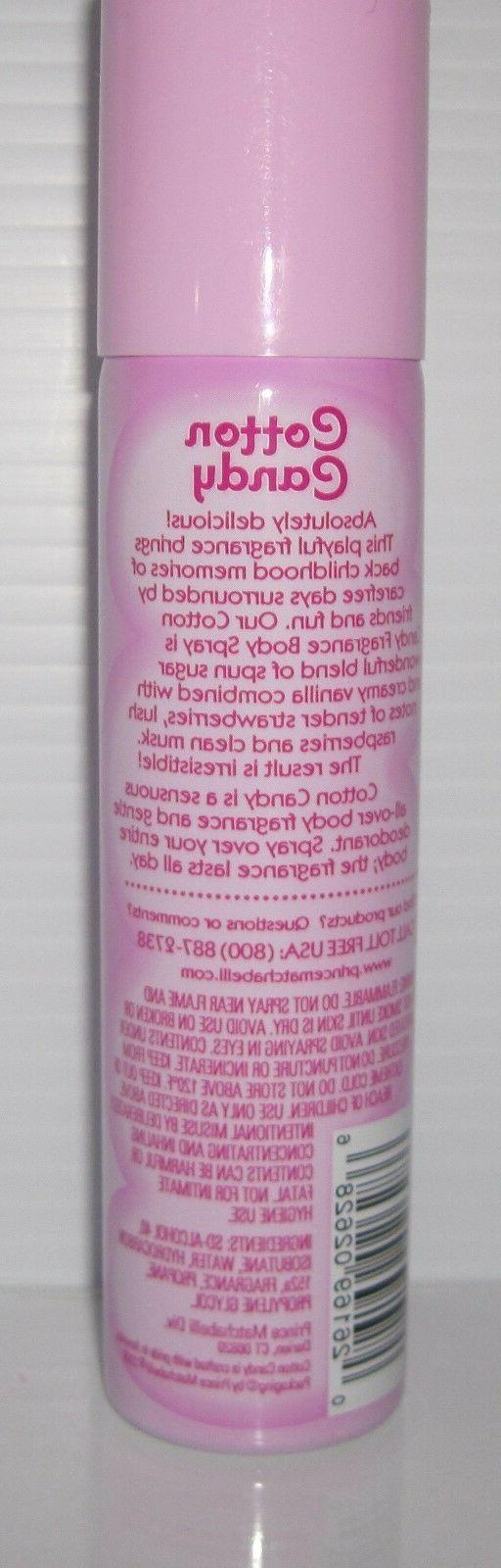 Prince Matchabelli Cotton Candy Fragrance Deodorant