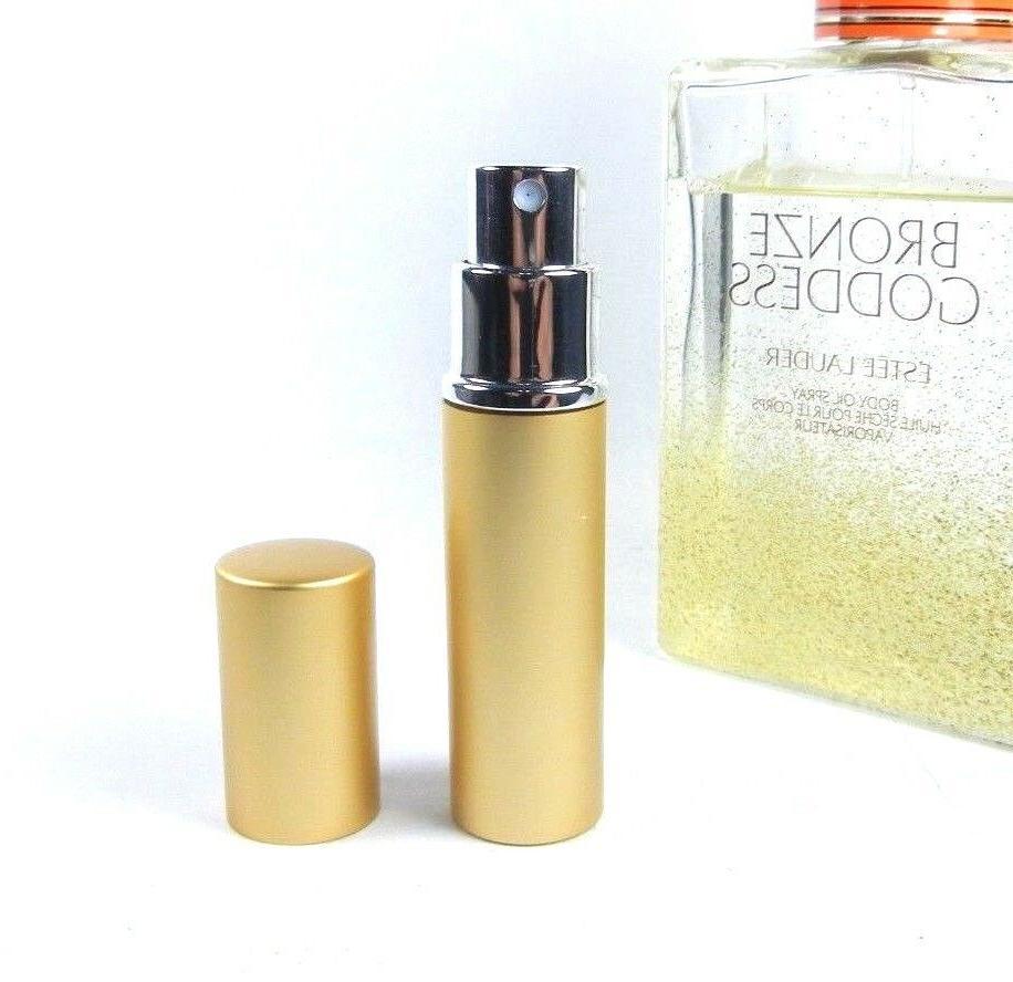 Estee Lauder Bronze Goddess Body Oil Spray 6ml Travel Atomiz