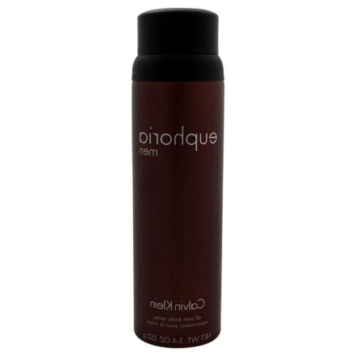euphoria by 5 4 oz body spray