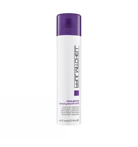 extra body firm finishing spray extreme hold