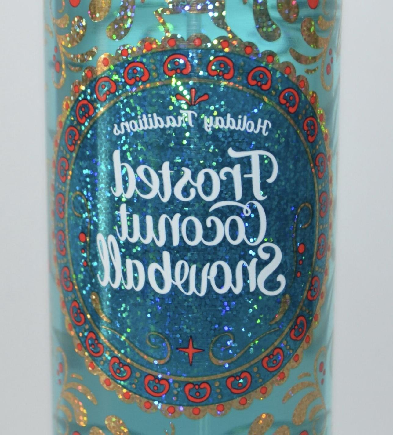 1 & BODY WORKS SNOWBALL FRAGRANCE MIST SPRAY