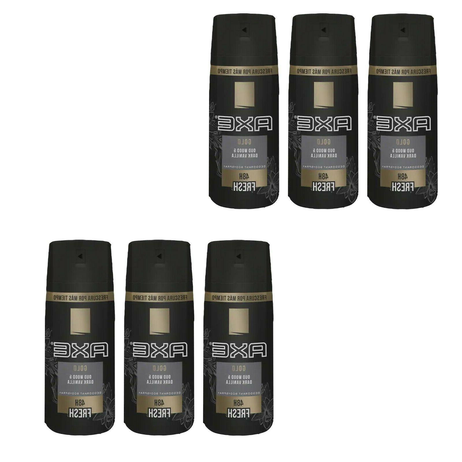 gold out wood and dark vanilla deodorant