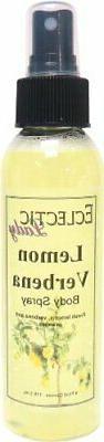 Lemon Verbena Body Spray by Eclectic Lady