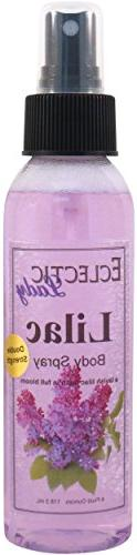 Lilac Body Spray , 4 ounces