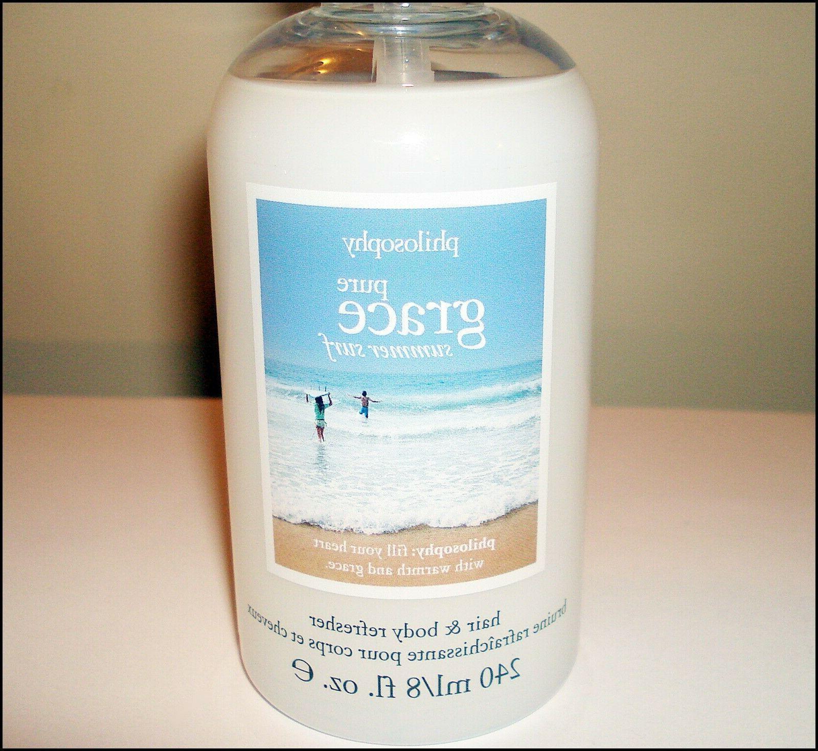 PHILOSOPHY SURF!~Hair & Refresher Spray+Bonus