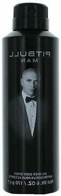Pitbull Man - Body Spray for Men - 6oz
