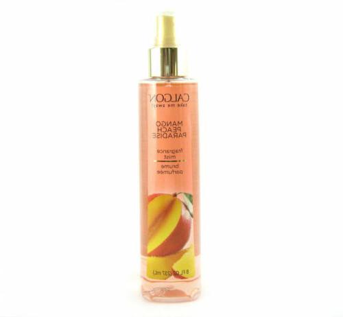 Calgon Mango Peach Paradise for Women Body Mist Spray 8.0 oz