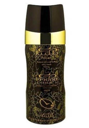 nabeel black 150 ml perfumed deodorant unisex