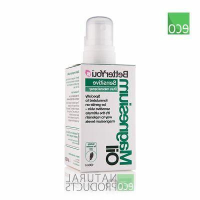 natural magnesium oil sensitive spray 100ml