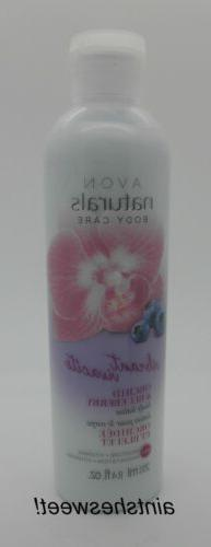 AVON Naturals ORCHID & BLUEBERRY - Choose Body Lotion ~OR~ B