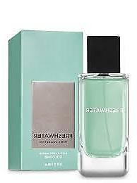 NEW BATH & BODY WORKS FRESHWATER MEN'S COLLECTION COLOGNE BO