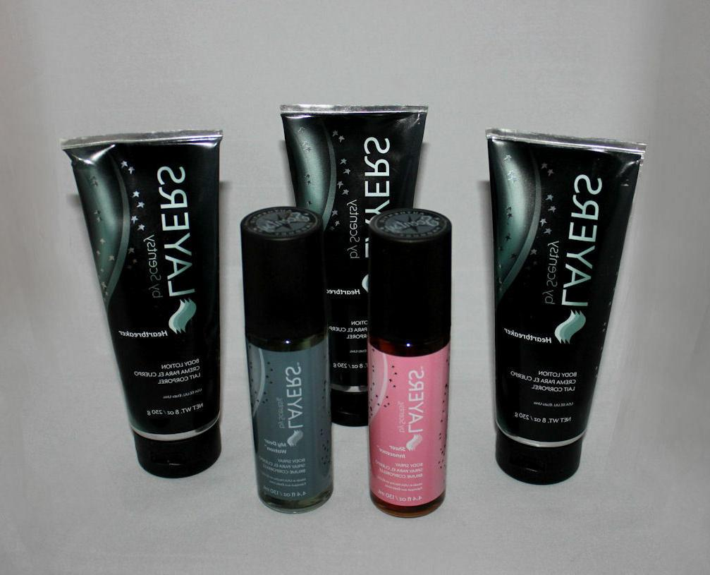 new sealed layers by body lotion body