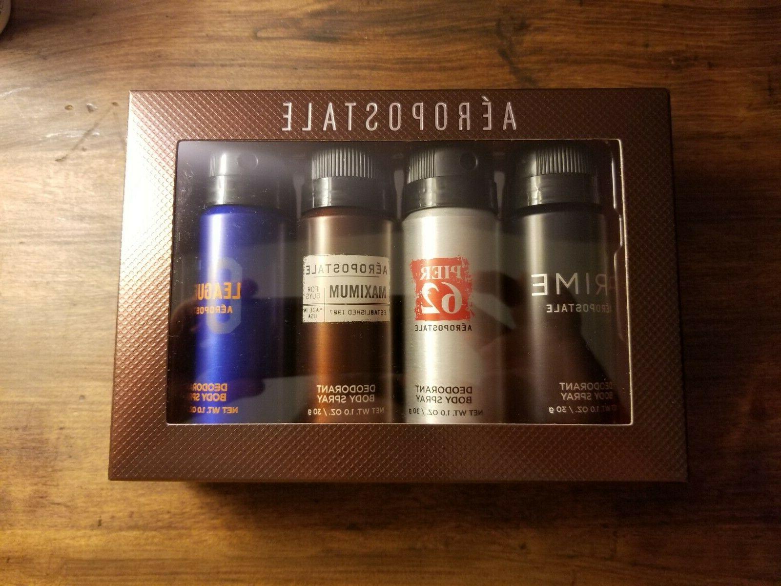 nib aeropostale body spray gift set prime