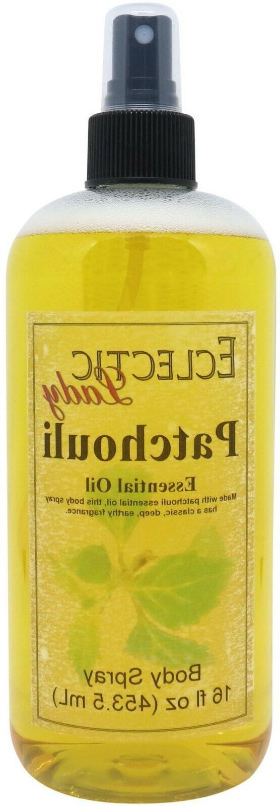 Patchouli Essential Body Spray