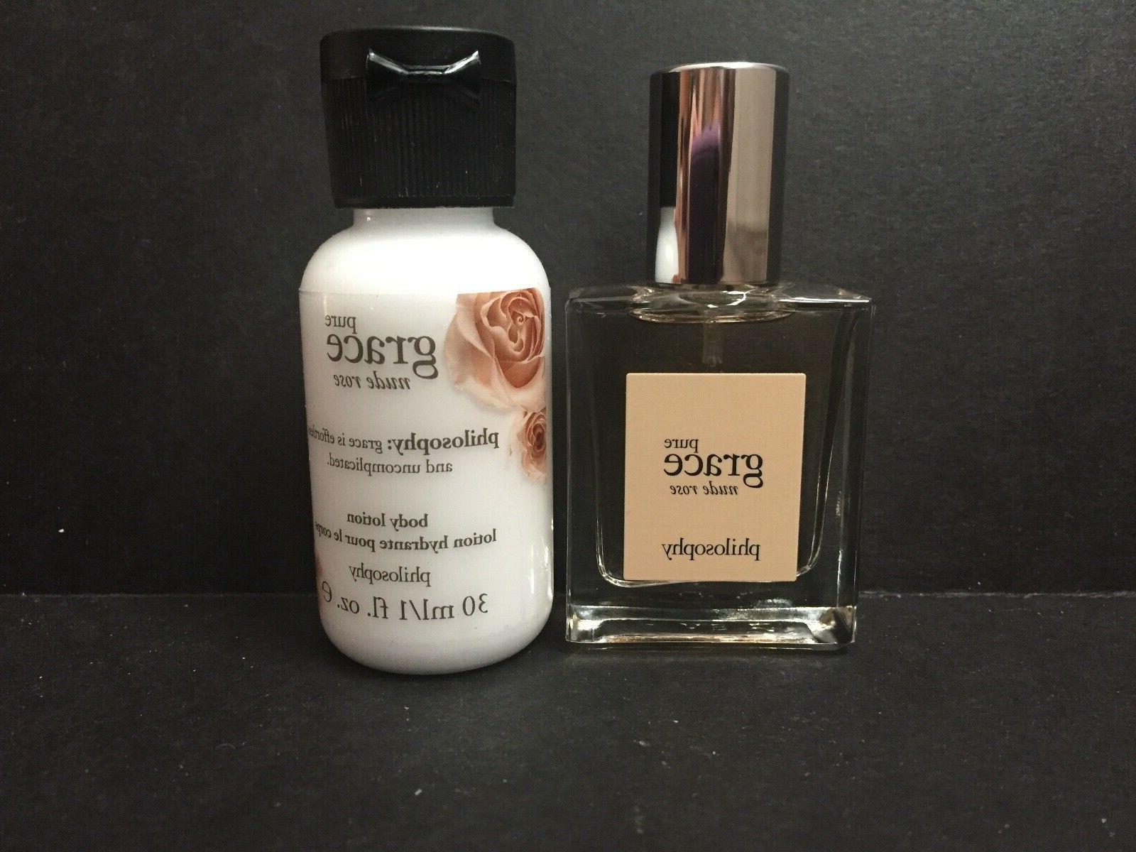 pure grace nude rose body lotion