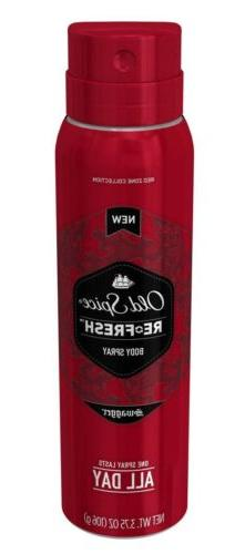 Old Spice Red Zone Collection ReFresh Swagger Body Spray 3.7